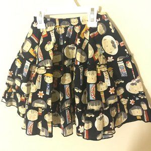 Mixed Up Clothing Size 5 printed Skirt